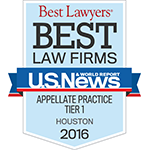 Best Law Firms - Appellate Practice Teir 1