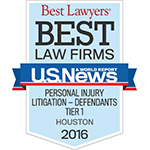 Best Law Firms - Personal Injury Ltigation - Defendants Tier 1